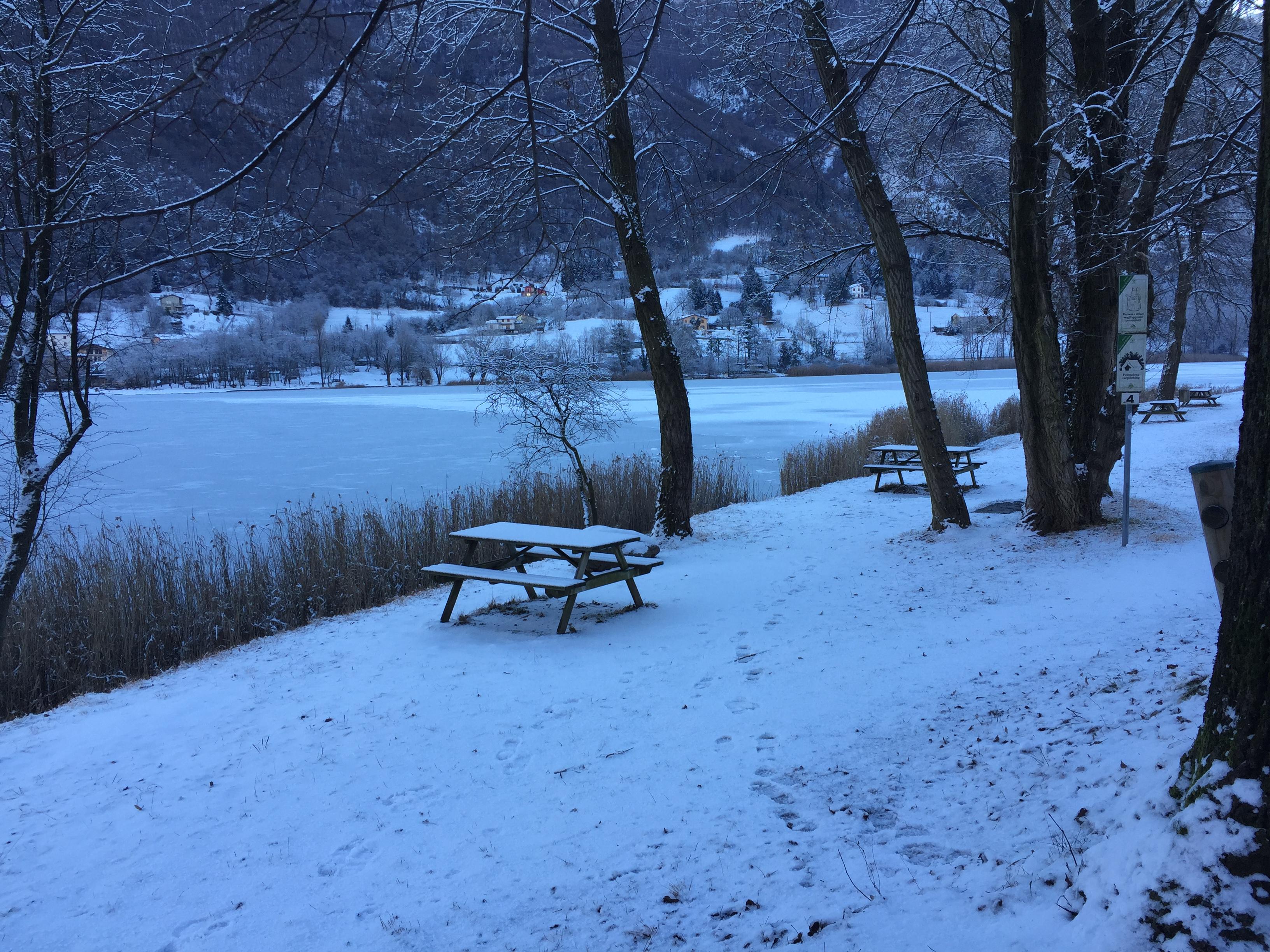 Ranzanico con la neve